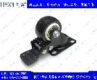 平板式带刹车万向脚轮(2寸-6寸)