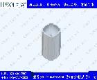 HLX-D43-020AL 铝合金精益管